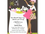 African American Baby Shower Invites Glam Crib Girl African American Baby Shower Invites