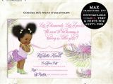 African American Baby Shower Invites Tips for Choosing African American Baby Shower Invitations