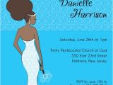 African American Bridal Shower Invitations Dynamite Diva Bride Bridal Shower Invitation African
