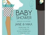 African American Couple Baby Shower Invitations Doc Milo