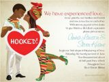 African themed Wedding Invitations African themed Wedding Invitations Bibi Invitations