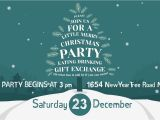 After Christmas Party Invitations Christmas Party Invitation after Effects Template From