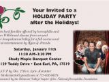 After Christmas Party Invitations Delaware Valley Chapter Of the Nhf