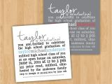 After Graduation Party Invitations Graduation Party Invitation Square Party Invitation