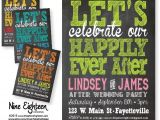 After the Wedding Party Invitations Items Similar to after Wedding Party Invitation Let 39 S