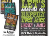 After Wedding Party Invitations Items Similar to after Wedding Party Invitation Let S