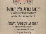 After Wedding Party Invitations Post Wedding Party Invitations