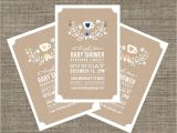 Afternoon Tea Baby Shower Invitations High Tea Baby Shower Invitation Tea Party Invite for Baby