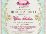 Afternoon Tea Party Invitation Wording High Tea Invitation Template Invitation Templates J9tztmxz