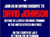 Air force Going Away Party Invitations Air force Going Away Party Invitation Digital File