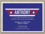 Air force Going Away Party Invitations Air force Invitation Going Away Bootcamp Deployment