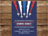 Air force Going Away Party Invitations Air force Invitation Going Away Military Invitation Army
