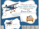 Airplane themed Baby Shower Invitations Airplane themed Baby Shower Invitation with by