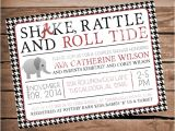 Alabama Baby Shower Invitations Alabama Houndstooth Baby Shower Invitation