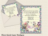 Alice and Wonderland Baby Shower Invitations Alice In Wonderland Baby Shower Invitation by