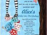 Alice In Wonderland Tea Party Invitation Ideas 25 Best Ideas About Alice In Wonderland Invitations On