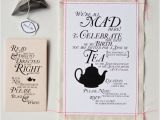 Alice In Wonderland Tea Party Invitation Ideas Alice In Wonderland Tea Party Invitation Wording