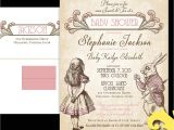 Alice In Wonderland Wedding Invitation Template Alice In Wonderland Invitation Template Free