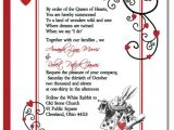 Alice In Wonderland Wedding Invitation Template Alice In Wonderland Wedding Invitations Template Best