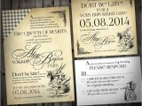 Alice In Wonderland Wedding Invitation Template Wedding Invitation Templates Alice In Wonderland Wedding