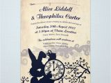 Alice In Wonderland Wedding Invitation Template Wedding On Pinterest Alice In Wonderland Boutonnieres