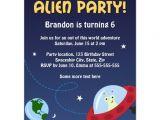 Alien Birthday Invitations Alien Party Invitation for Kids Birthday Parties