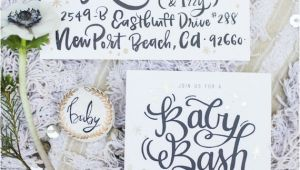 All White Baby Shower Invitations All White Baby Shower Ideas Baby Ideas