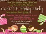 Almost Sleepover Party Invitations Sleepover Birthday Invitations Lijicinu 8eccf6f9eba6