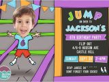 Altitude Trampoline Park Birthday Invitations 17 Best Images About Jellyfish Prints On Pinterest
