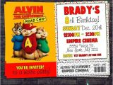 Alvin and the Chipmunks Birthday Invitation Template 17 Best Images About Alvin Party On Pinterest