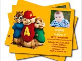Alvin and the Chipmunks Birthday Invitation Template Tips for Choosing Alvin and the Chipmunks Birthday