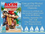 Alvin and the Chipmunks Birthday Invitation Template Unique Ideas for Alvin and the Chipmunks Birthday