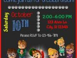 Alvin and the Chipmunks Birthday Party Invitations 99 Best Slg Invitations Images On Pinterest