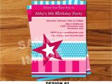 American Girl Doll Birthday Party Invitations American Girl Invitation Doll Invitation American Girl