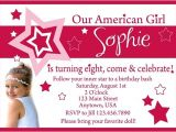 American Girl Party Invitations Free Printable American Girl Doll Birthday Party Invitations