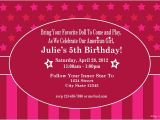 American Girl Party Invitations Free Printable American Girl Doll Inspired Printable Birthday Invitation