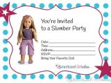 American Girl Party Invitations Free Printable American Girl Party Invitations • American Girl Ideas