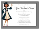 American Greetings Graduation Invitations Jade African American Graduation Announcement