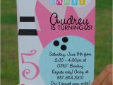 Amf Bowling Party Invitations Printable Diy Girls Bowling Invitation Bowling Party