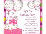 An Invitation Card for A Birthday Party Invitation for Birthday