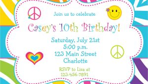 An Invitation for A Birthday Party Birthday Party Invitations