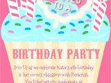 An Invitation for A Birthday Party Honest Birthday Party Invitations