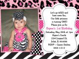 Animal Print Birthday Party Invitations Pink Leopard Print Birthday Invitation Printable or Printed