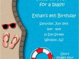 Animated Party Invitations Free Animated Pool Party Invitations