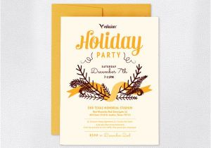 Annual Holiday Party Invitation Template 25 Holiday Invitation Templates Free Psd Ai Eps