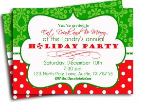 Annual Holiday Party Invitation Template Annual Holiday Party Invitation Templates