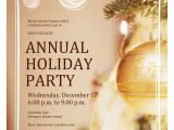 Annual Holiday Party Invitation Template Wednesday December 17 2014 6 00 P M to 9 00 P M Riasla