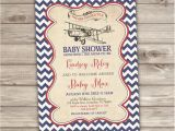 Antique Airplane Baby Shower Invitations Vintage Airplane Baby Shower Invitations Nv111