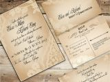 Antique Wedding Invitation Ideas 30 Unique Vintage Wedding Invitations