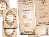 Antique Wedding Invitation Ideas Einladung Hochzeit Vintage Saisonal originell